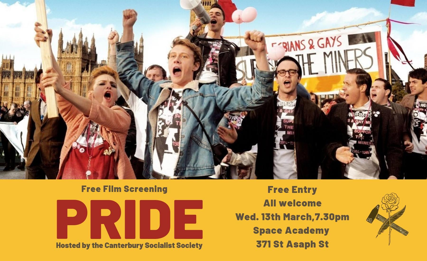 CSS Film Screening: Pride (2014)