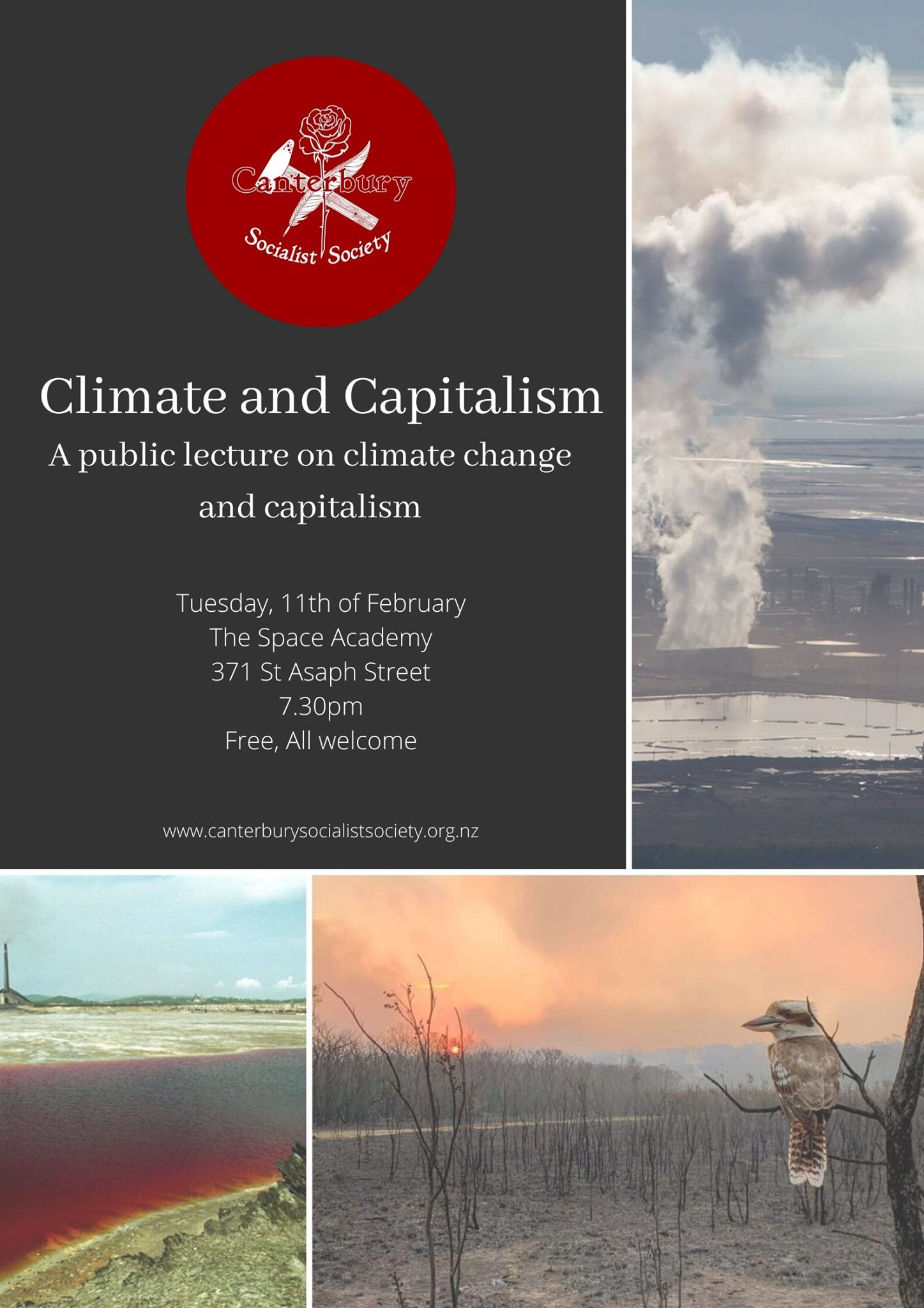CSS Public Lecture: Climate and Capitalism