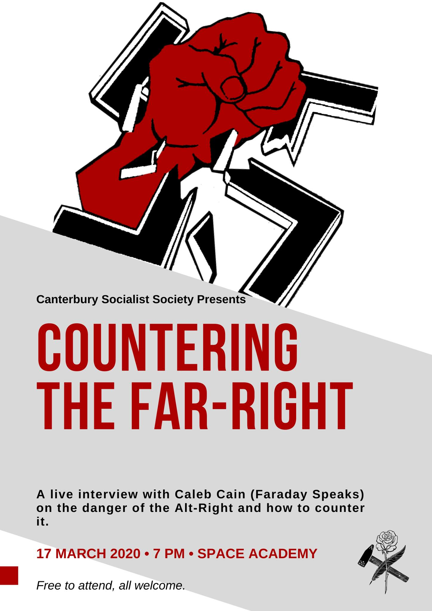 CANCELLED: CSS Interview With Caleb Cain: Countering the Far-Right