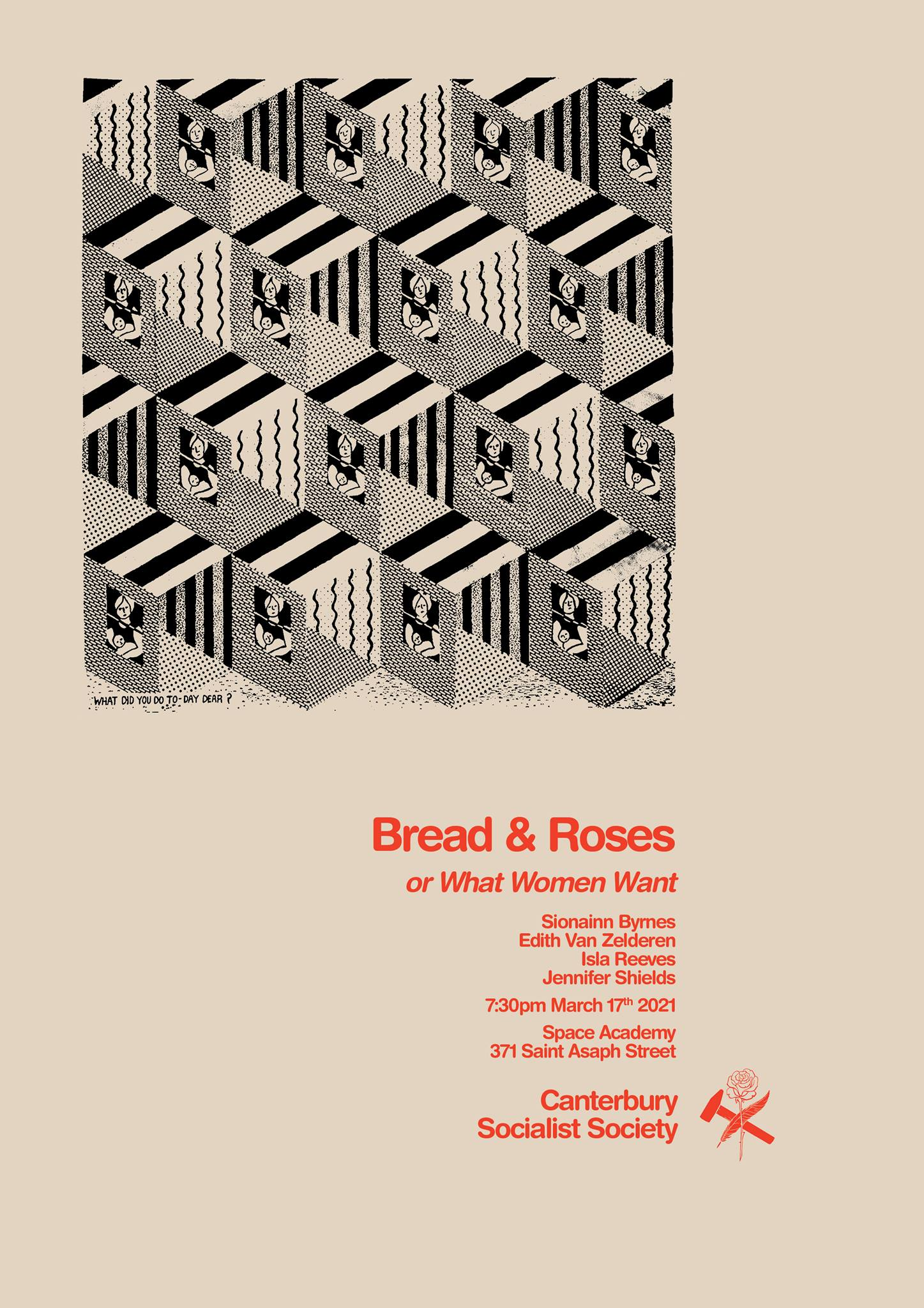 CSS Panel Event: Bread and Roses, or What Women Want …