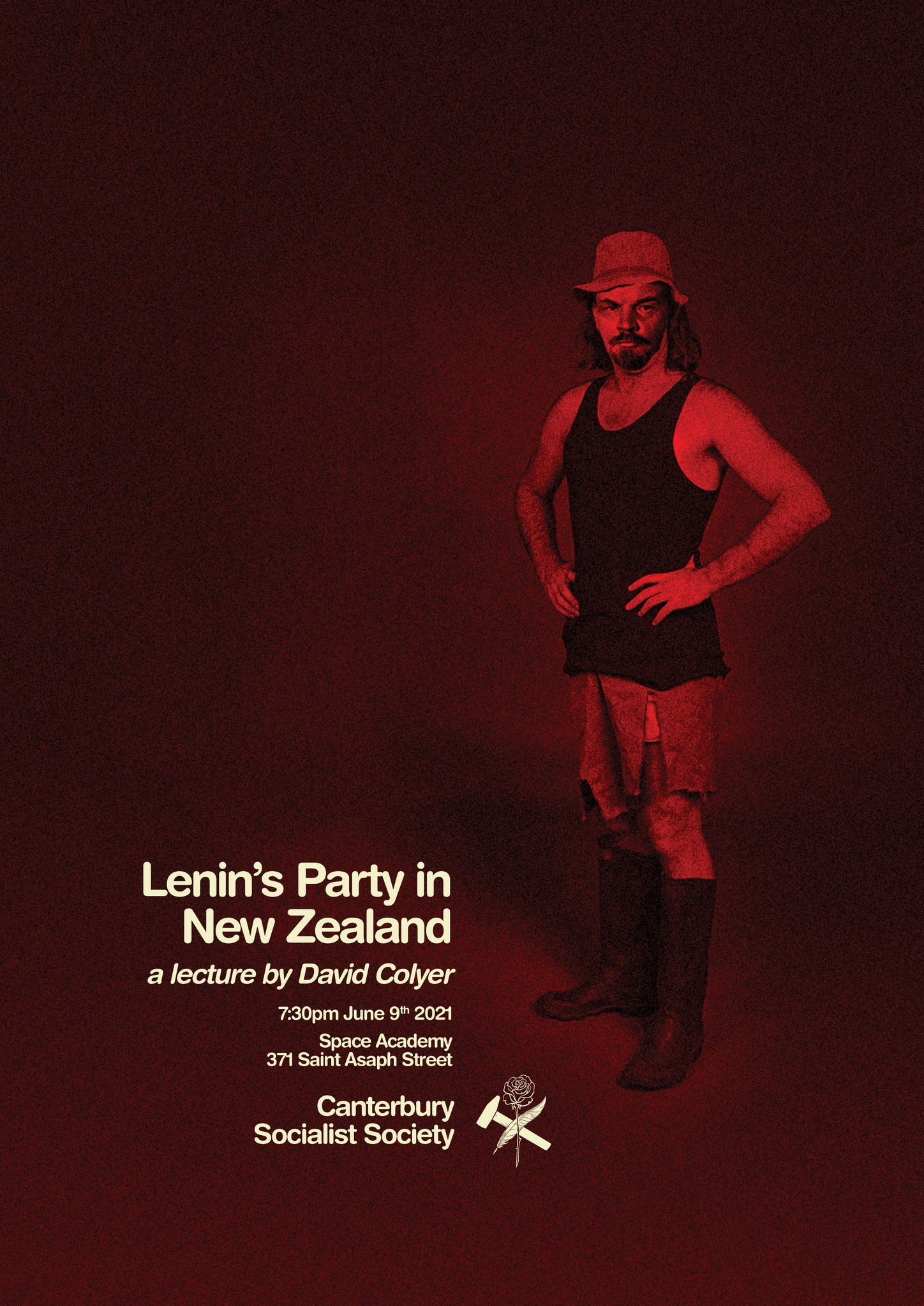 CSS Public Lecture: Lenin's Party in New Zealand – 100 years of Leninism