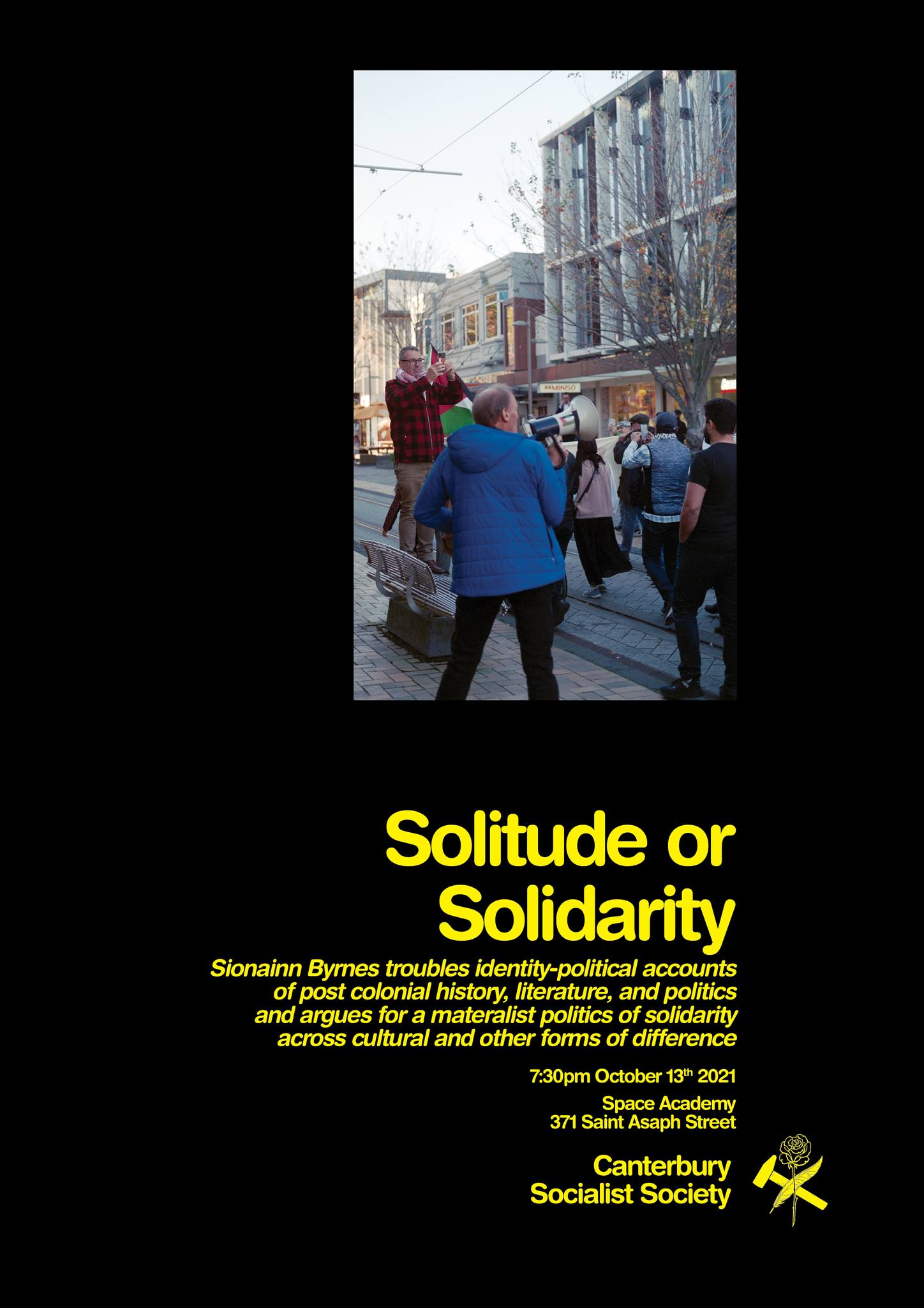 CSS Public Lecture – Solitude or Solidarity: Marxism and Postcolonial Theory